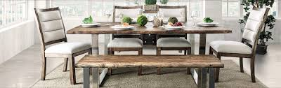 Western Dining Room Tables Furniture Of America More Value For Less Always