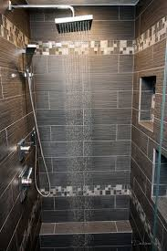 Bathroom Tile Border Ideas by Large Charcoal Black Pebble Tile Border Shower Accent Https Www