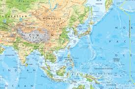 Eastern Asia Map by Asian Access Downloads Maps