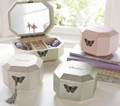 jewelry box favors gem jewelry box collection pottery barn kids