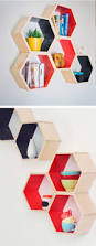 best 25 honeycomb shelves ideas on pinterest hexagon shelves