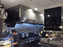 AOM HCFO Series Kitchen Exhaust Hood Air & Odour Management