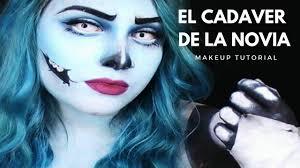 halloween en abril el cadaver de la novia maquillaje emily