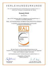 Taunus Klinik Bad Nauheim Qualitätsmanagement Kurpark Klinik