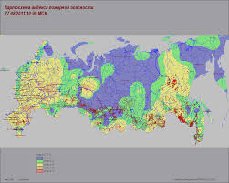 Wildfire Map America by Current Forest Fires In The Russian Federation
