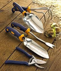 Gardening Tools by 5 Pc Garden Tool Set W Free Garden Bag Garden Tools By Cutco