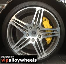 19 inch porsche cayman 987 turbo wheels with summer tyres