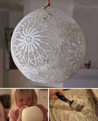 Diy Recycled Home Decor 20 Great Diy Ideas For Decorating With Lace Diy And Crafts Home