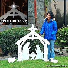 398 best yard decorations images on nativity