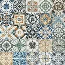 20x20cm nikea mix pattern tile set laundry kitchens and bedrooms