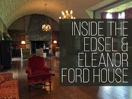 ford house edsel eleanor ford house inside the grounds gardens home