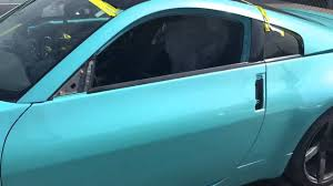nissan 350z tiffany blue pearl custom paint job youtube