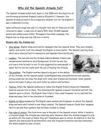 the spanish armada by leighbee23 teaching resources tes