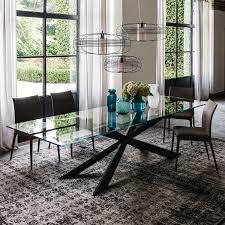 tavoli sala da pranzo tavolo in cristallo lungo tre metri spyder di cattelan arredaclick