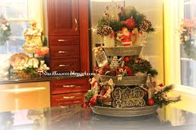 priscillas christmas galvanized tiered tray 2015