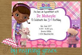 doc mcstuffins party invitations reduxsquad com