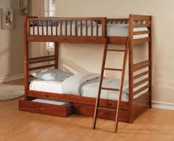 bedroom graph of space saving bunk bed with ladder plus drawers