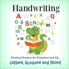 handwriting printing practice preschool and up letters numbers