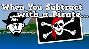 subtract pirate subtraction song kids