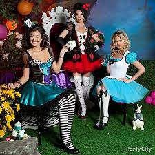 Halloween Costumes Alice Wonderland 58 Group Family Costumes Images Family