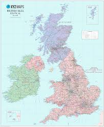 World Map Actual Size by Scottish British Isles Political Map 1 1m Gif Image Xyz Maps
