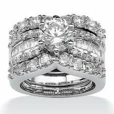 Walmart Wedding Ring Sets by Quiet Wedding Cubic Zirconia Wedding Rings Walmart