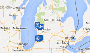 Map Of Michigan Highways by Top 10 Worst Michigan Highways For Winter Car Accidents