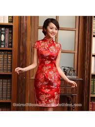 maroon dresses for wedding floral brocade qipao traditional bridal wedding