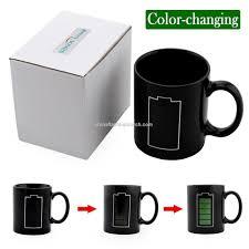 Heated Coffee Mug Promotional Sidiou Group Black Creative Battery Power Cup Glass
