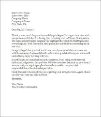 job interview thank you letter interview thank you letters after