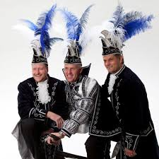 carnaval prins cv de narre kappen prins capo adjudant vicino en adjudant amico