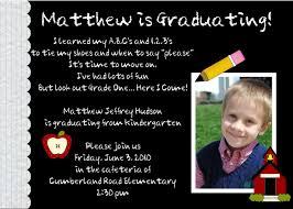 graduation invite kindergarten graduation announcements cloveranddot com