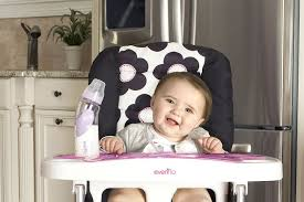 inspirations high chair splat mat evenflo high chair cover