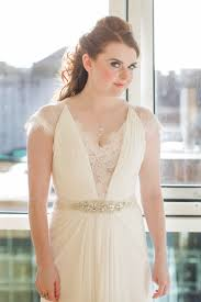 wedding dresses in glasgow white friendly doily gypsophila filled wedding