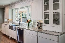 Shaker Style Interior Design by Craftsman Kitchen With Hardwood Floors By Steve Motzkus Zillow