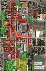 Ohio Stadium Map by Gaylord Family Oklahoma Memorial Stadium The Official Site Of