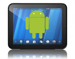 touchpad android cyanogenmod team gets android working on hp touchpad techcrunch