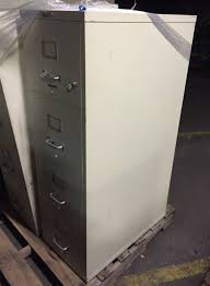 Used 4 Drawer Lateral File Cabinet by 4 Drawer Hon Letter Size Tan Fireproof File Cabinets Used