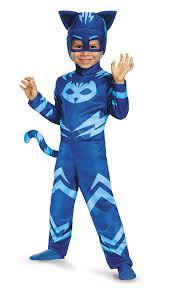 amazon boys halloween costumes amazon com catboy classic toddler pj masks costume large 4 6