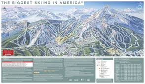 Mt Snow Trail Map Big Sky Resort Trail Map Onthesnow