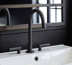Watermark Faucet Exton Lever Handle Widespread Bathroom Faucet Pottery Barn