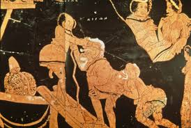 Ancient Greek Vase Painting 308 Early Greek Comedy And Satyr Plays Classical Drama And Theatre