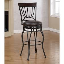 metal bar stool with wooden seat tags simple burgundy bar stools
