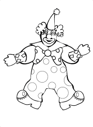 coloring pages of scary clowns 100 clown faces to color happy birthday icon clown face