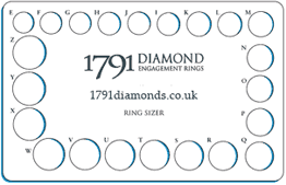 wedding ring sizes uk find the correct ring size accurate ring size guide 1791 diamonds