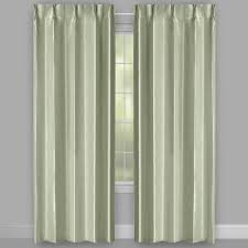 jade pleated window curtains set of 2 christmas tree shops andthat