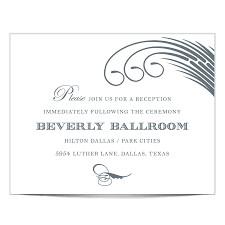 reception cards wording dallas recpetion card www tilliecreativedesign comwww