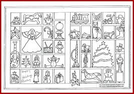 christmas coloring activity