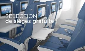 siege avion air option plus des privilèges en classe économie air transat