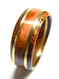 wedding ring alternatives for men unique men s wood ring cedar and brass wedding band engagement